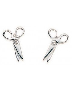 My-jewelry - D710uk - Sterling silver pair of scissors earring