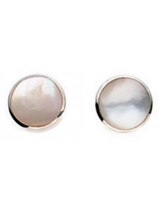 My-jewelry - D776wuk - Sterling silver mother of pearl earring