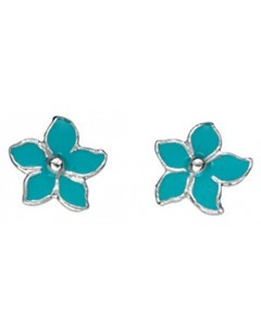 My-jewelry - D826tuk - Sterling silver flower earring