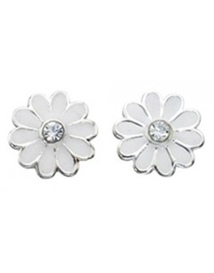 My-jewelry - D869wuk - Sterling silver flower earring