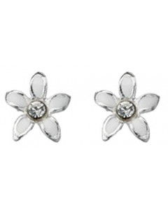 My-jewelry - D909uk - Sterling silver flower earring