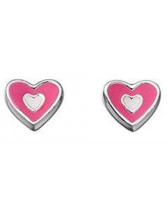 My-jewelry - D4349uk - Sterling silver heart earring