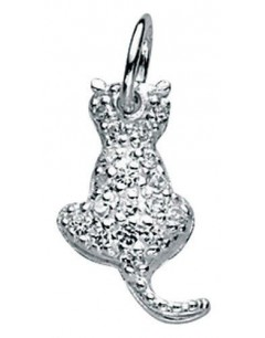 Collar cat in 925/1000 silver