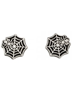 My-jewelry - D925wuk - Sterling silver spider web earring