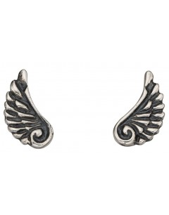 My-jewelry - D927wuk - Sterling silver wing angel earring