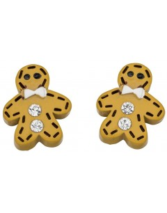 My-jewelry - D930muk - Sterling silver man cookie earring