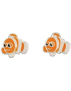 My-jewelry - D940puk - Sterling silver fish cartoon earring
