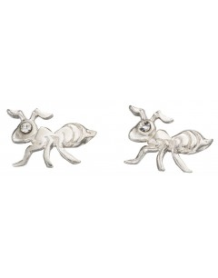 My-jewelry - D950tuk - Sterling silver ant earring