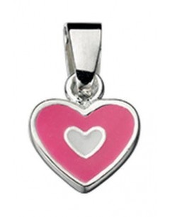 Necklace heart in 925/1000 silver
