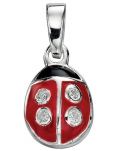 necklace ladybird in 925/1000 silver