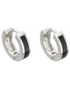 My-jewelry - D5012 - earring Onyx in 925/1000 silver