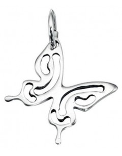 My-jewelry - D3316uk - Sterling silver butterfly Necklace