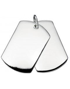 collar id tags in 925/1000 silver
