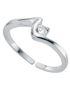 My-jewelry - D2593uk - Sterling silver chic adjustable Ring toe