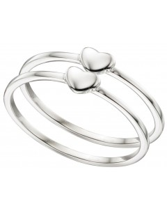 My-jewelry - D3375uk - Sterling silver chic hearts Ring