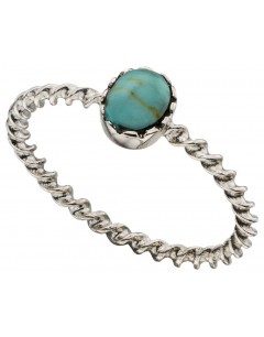 My-jewelry - D3377t - chic Ring turquoise in 925/1000 silver