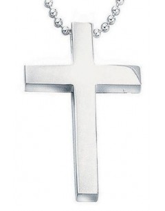 Necklace cross in 925/1000 silver