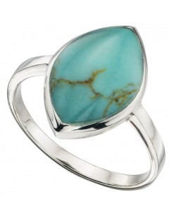 My-jewelry - D3379tuk - Sterling silver chic turquoise Ring