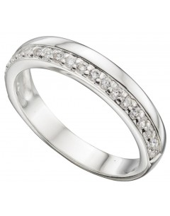 My-jewelry - D3380uk - Sterling silver chic zirconia Ring