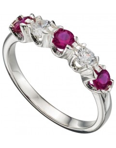 My-jewelry - D3382 - chic Ring zirconia in 925/1000 silver