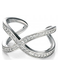 My-jewelry - D3301uk - Sterling silver very classy with zirconium Ring