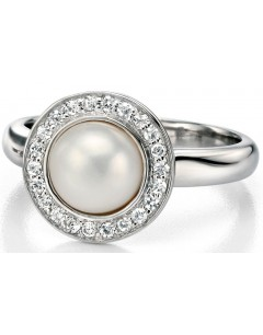 My-jewelry - D3304uk - Sterling silver very class with mother-of-pearl and zirconium Ringi