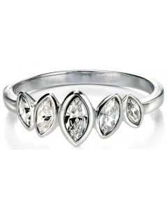 My-jewelry - D3407 - Rings princess zirconium in 925/1000 silver