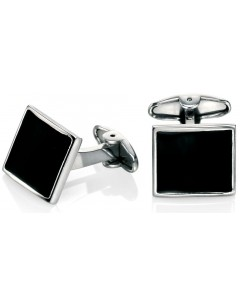 My-jewelry - D467 - Button cuff enamel stainless steel