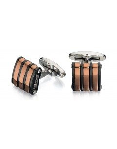 My-jewelry - D503 - Button cuff Gold-plated copper stainless steel