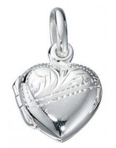 My-jewelry - D3130uk - Sterling silver pendant heart photo child necklace