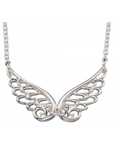 My-jewelry - D3860cuk - Sterling silver trend wings angel necklace