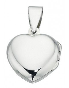 My-jewelry - D3324uk - Sterling silver pendant photo heart necklace