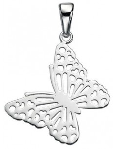 My-jewelry - D3479uk - Sterling silver butterfly necklace