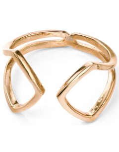 My-jewelry - D3423c - Ring, trendy Gold plated in 925/1000 silver