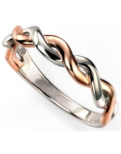 My-jewelry - D3434cuk - Sterling silver trend rose Gold plated and rhodium ring
