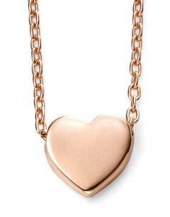 My-jewelry - D235cuk - 9k Pretty heart rose Gold necklace