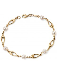My-jewelry - D416 - trend Bracelet Gold bead 375/100
