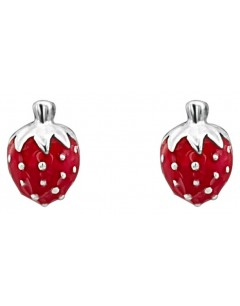My-jewelry - DC165uk - Sterling silver Superb strawberry for a little girl earring