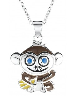 My-jewelry - DC152uk - Sterling silver monkey necklace