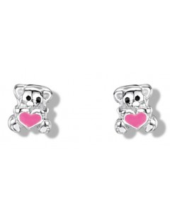 My-jewelry - DC128euk - Sterling silver teddy bear earring