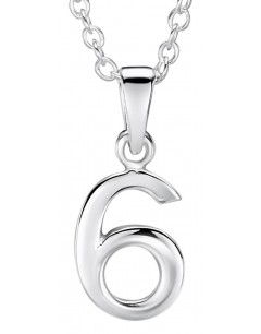 My-jewelry - DC6uk - Sterling silver number brings good luck necklace