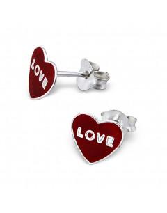 My-jewelry - H961uk - Sterling silver Love earring