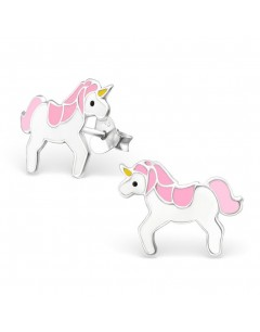 My-jewelry - H1202uk - Sterling silver unicorn earring