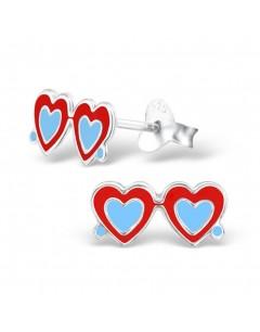 My-jewelry - H2199uk - Sterling silver sunglasses heart earring