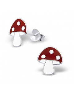 My-jewelry - H4666uk - Sterling silver fungus earring