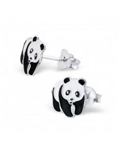 My-jewelry - H7391 - earring Panda in 925/1000 silver