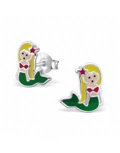 My-jewelry - H17791 - earring mermaid in 925/1000 silver
