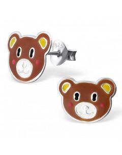 My-jewelry - H17810uk - Sterling silver teddy bear earring