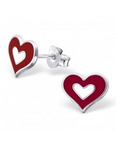 My-jewelry - H18237uk - Sterling silver heart earring