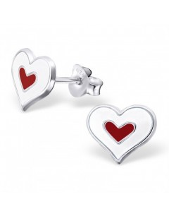 My-jewelry - H18238uk - Sterling silver heart earring
